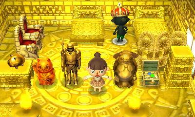 黄金のお部屋