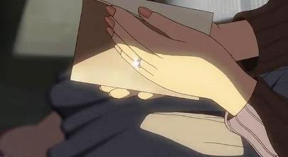 明里の左手