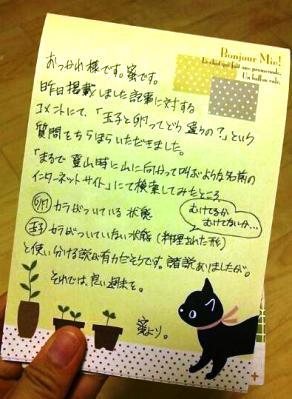 壇蜜さんの字