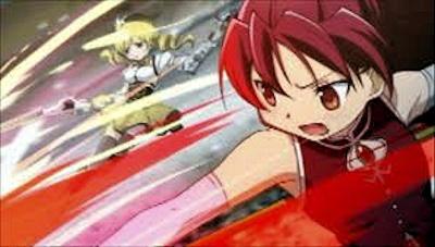 マミと共闘する杏子
