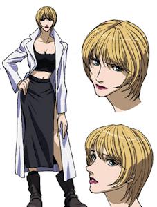 OVA版のエディス・フォス大尉
