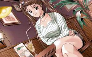 喫茶店の涼子