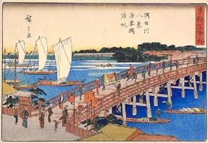 江戸時代の吾妻橋