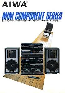 AIWAのミニコンポ CD My Pace V55