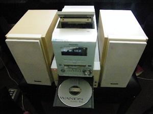 PanasonicMDコンポSA-PM57MD