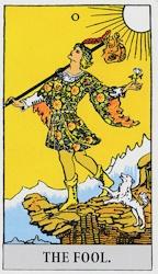 「愚者」のカード