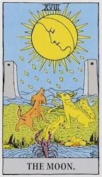 「月」のカード