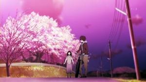 桜咲く夕べ