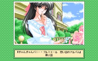 PC版画面の真穂子