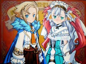 花嫁衣装のカリン