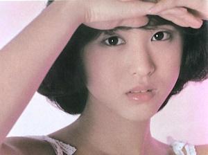 デビュー当時の松田聖子