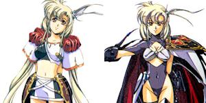 リアナ(左)とラーナ(右)