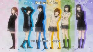 アニメのOPのi Love