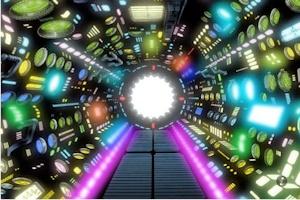 銀河鉄道999の機関室