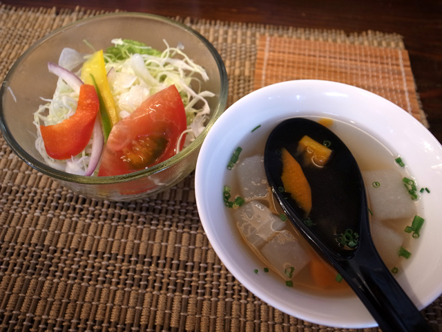スープ・サラダ