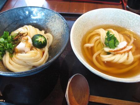 ひやかけ&青唐生醤油の食べ比べ