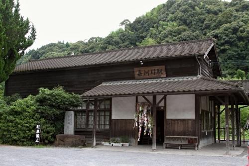 嘉例川駅 正面