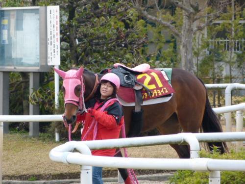 ファインチョイス・藤井厩務員5