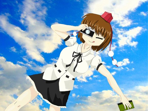 射命丸文in the Sky!-1