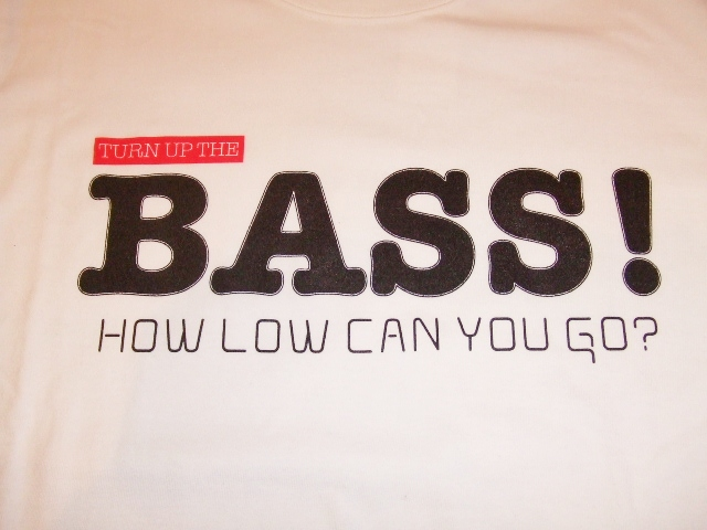 MDY MDY BASS LS TEE FRONT WHITE
