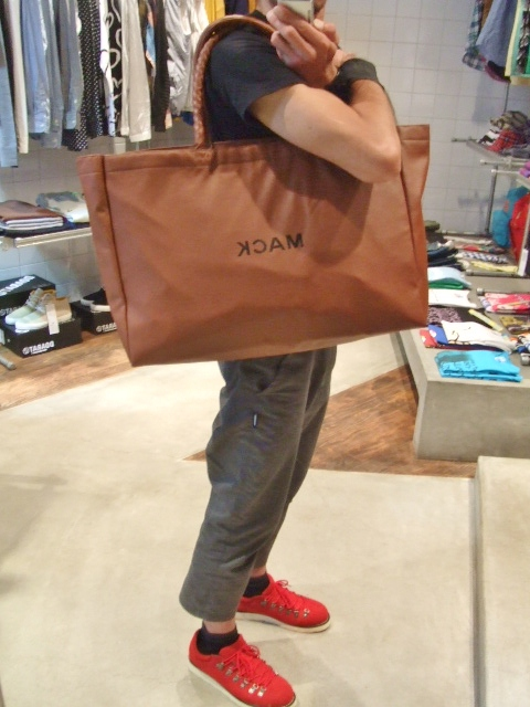 MDY FAKE LEATHER BAG FRONT