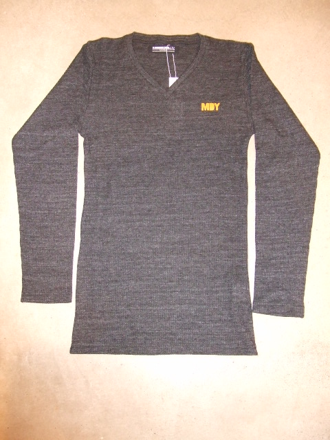 MDY V NECK THERMAL SHIRTS FRONT