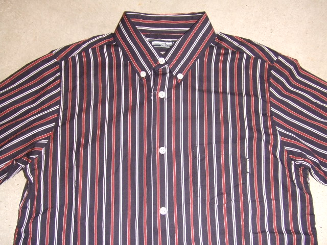MDY STRIPE SHIRTS DECENT RED