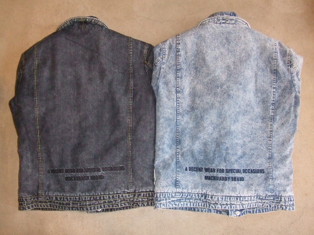 MDY DENIM RIDERS JACKET BACK