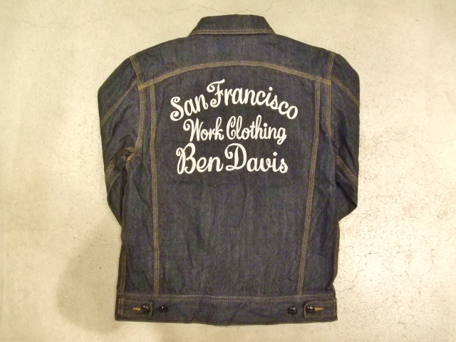 BENDAVIS DENIM JACKET BACK1