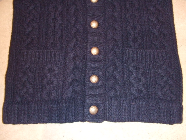 BENDAVIS CACLE KNIT CARDIGAN NAVY2