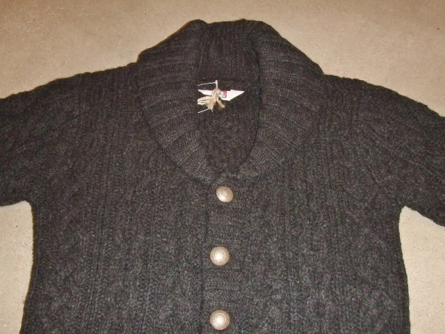 BENDAVIS CACLE KNIT CARDIGAN BLACK1
