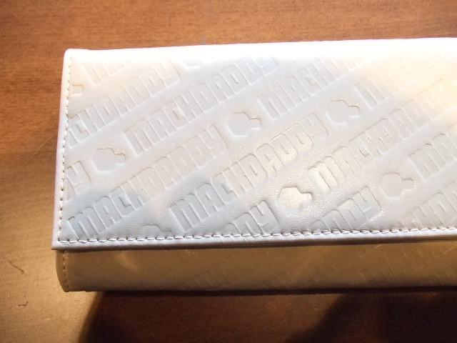 MACKDADDY LONG WALLET BEIGE