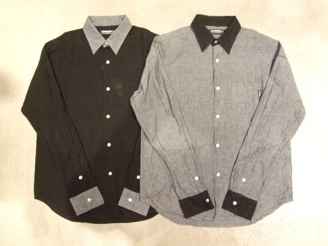 MDY 2TONE DUNGAREE SHIRTS