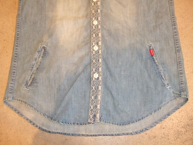 rehacer MASH DENIM SHIRTS OND