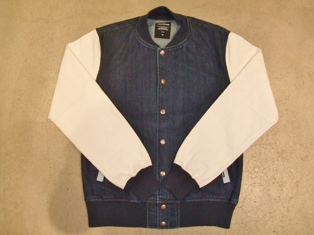 MDY DENIM VARSITY JACKET