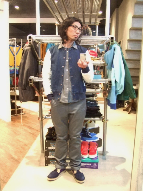 MDY DENIM VARSITY JACKET ST2