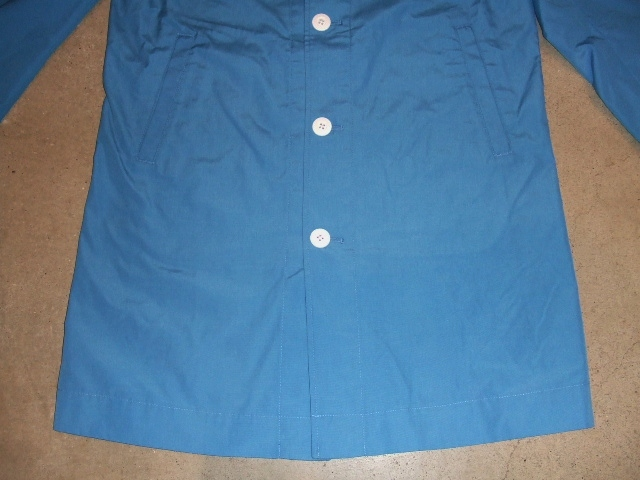 MDY STEN COLLAR COAT BLUE2