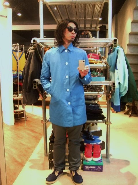 MDY STEN COLLAR COAT ST