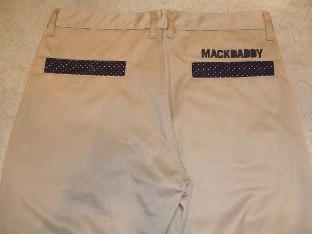 MDY  STANDARD  CHINO PANTS BEIGE BACK1