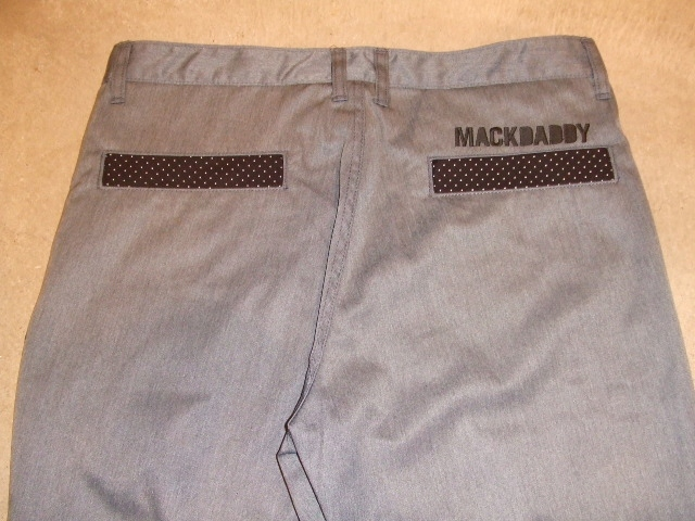 MDY  STANDARD  CHINO PANTS GRAY BACK1
