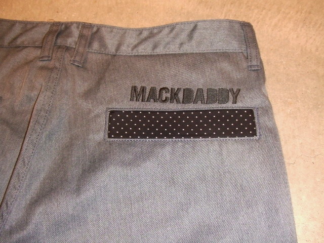 MDY  STANDARD  CHINO PANTS GRAY BACK2