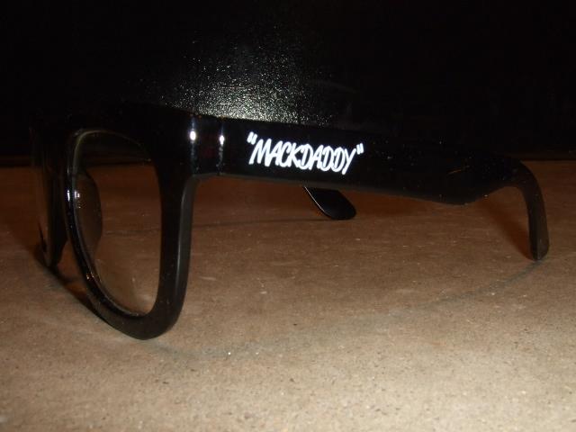 MDY SUNGLASS  CLEAR BLACK SD