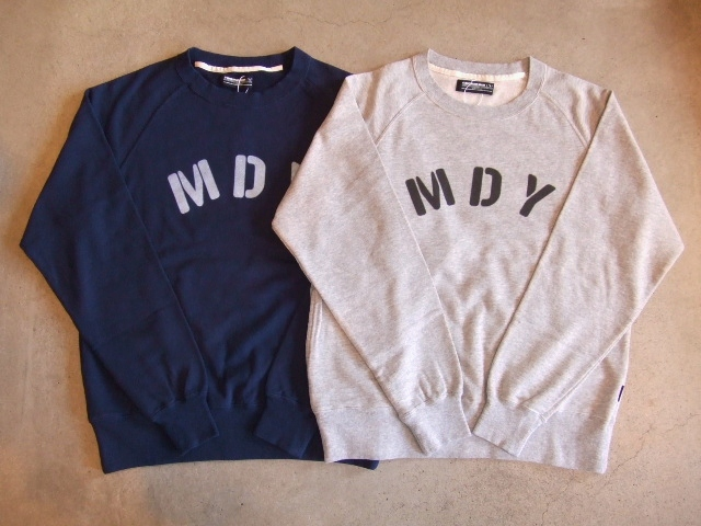 MDY RAGLAN SLEEVE CREW SWEAT