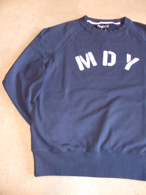 MDY RAGLAN SLEEVE CREW SWEAT NAVY FT2
