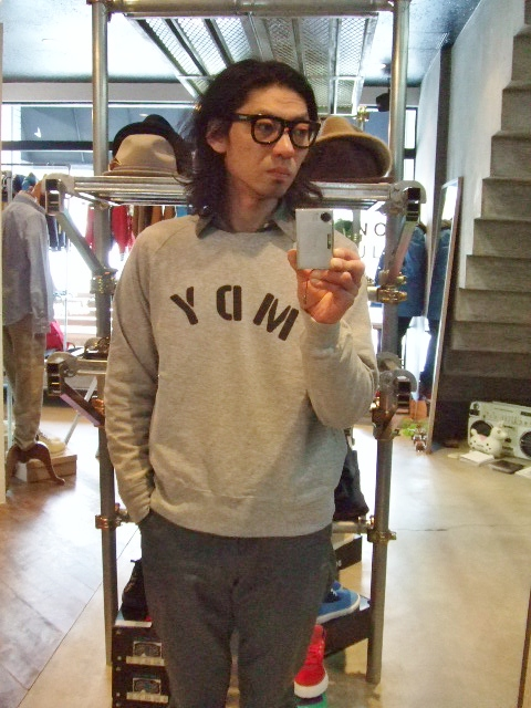 MDY RAGLAN SLEEVE CREW SWEAT ST