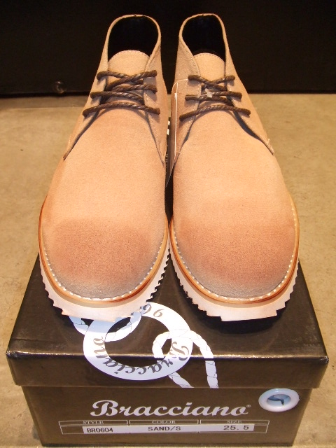 BRACCIANO DESERT BOOT SAND FT1
