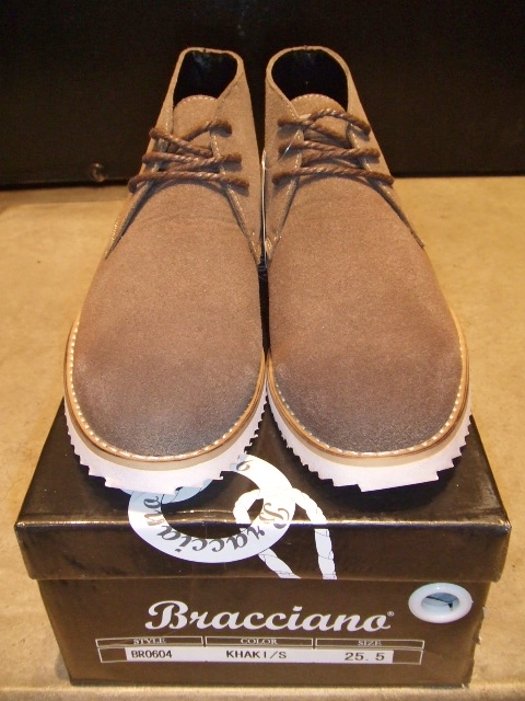 BRACCIANO DESERT BOOT KHAKI FT1