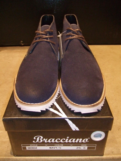 BRACCIANO DESERT BOOT NAVY FT1