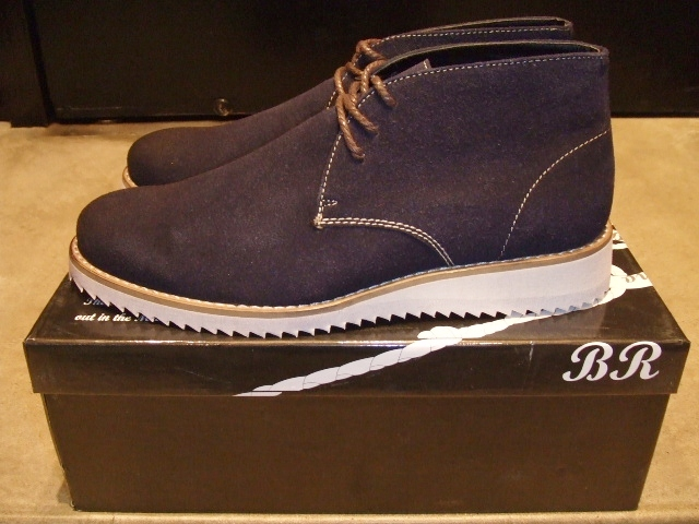 BRACCIANO DESERT BOOT NAVY SD1