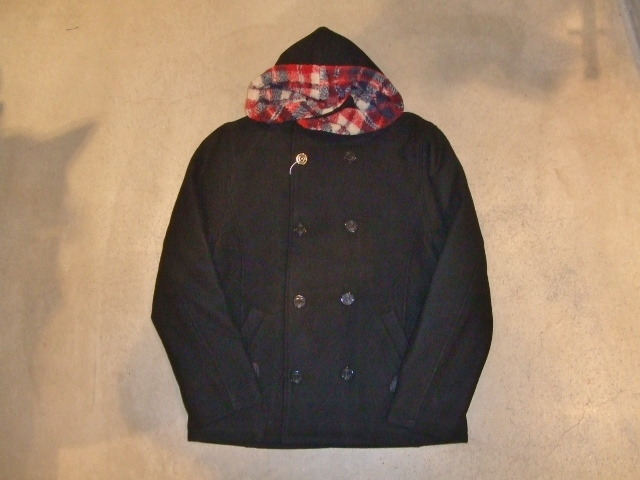 rehacer Fast hooded P-coat